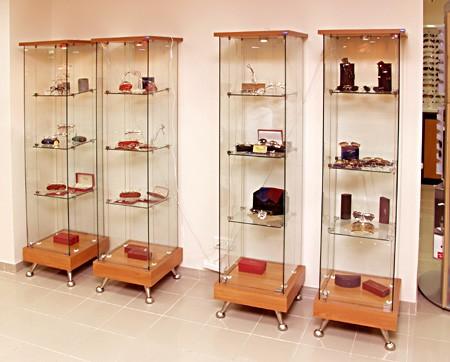 Витрины стенды для хранение сувениров и подарков , музейных экспонатов в Хотьково,Климово,Ключевском